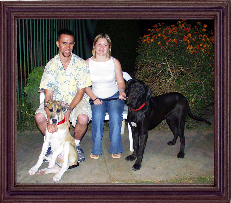 Adronicus Mastiff Argo and family